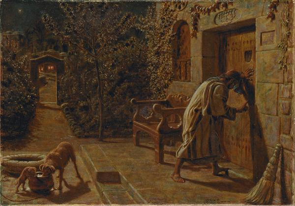 The Importunate Neighbour, 1895 - William Holman Hunt