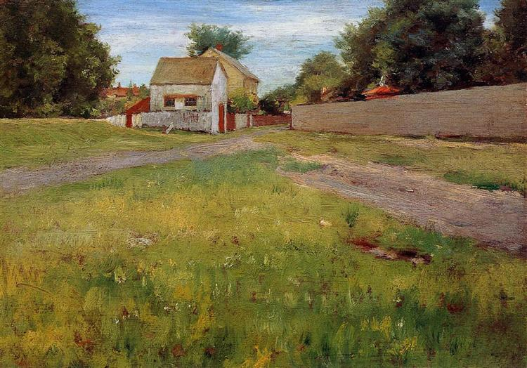 Brooklyn Landscape, 1886 - William Merritt Chase