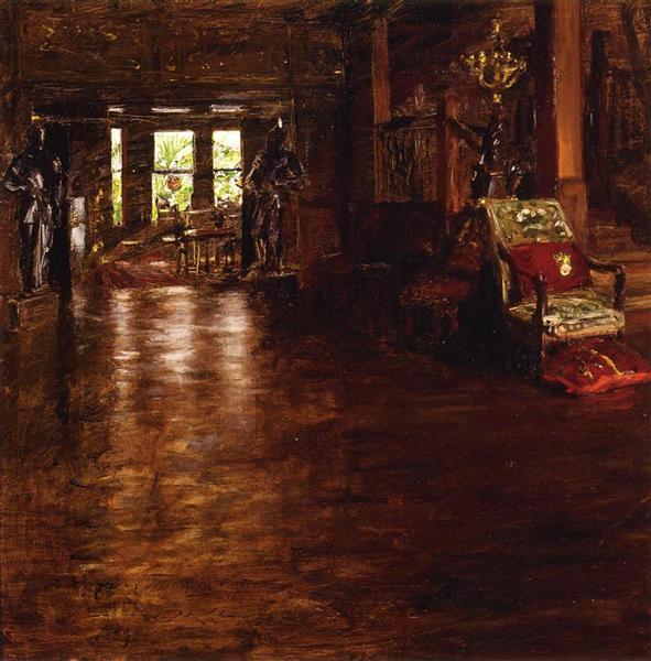 Interior, Oak Manor, 1899 - William Merritt Chase