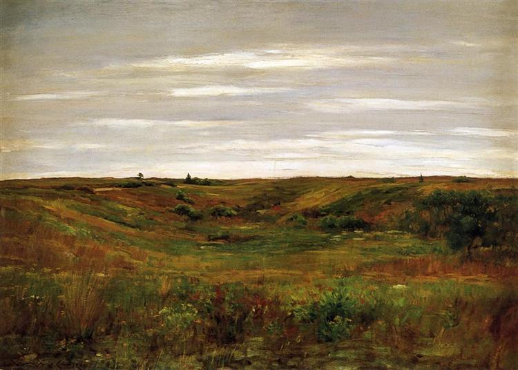Landscape - A Shinnecock Vale, 1895 - William Merritt Chase