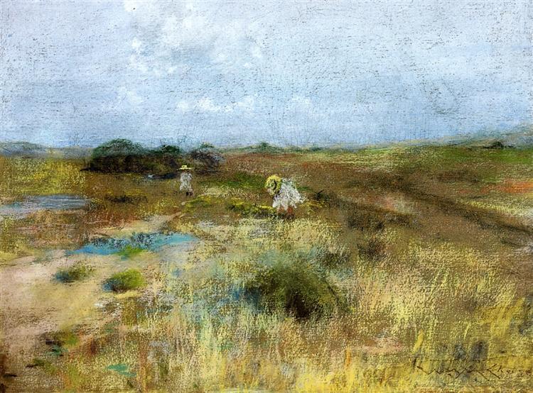 October, 1903 - William Merritt Chase