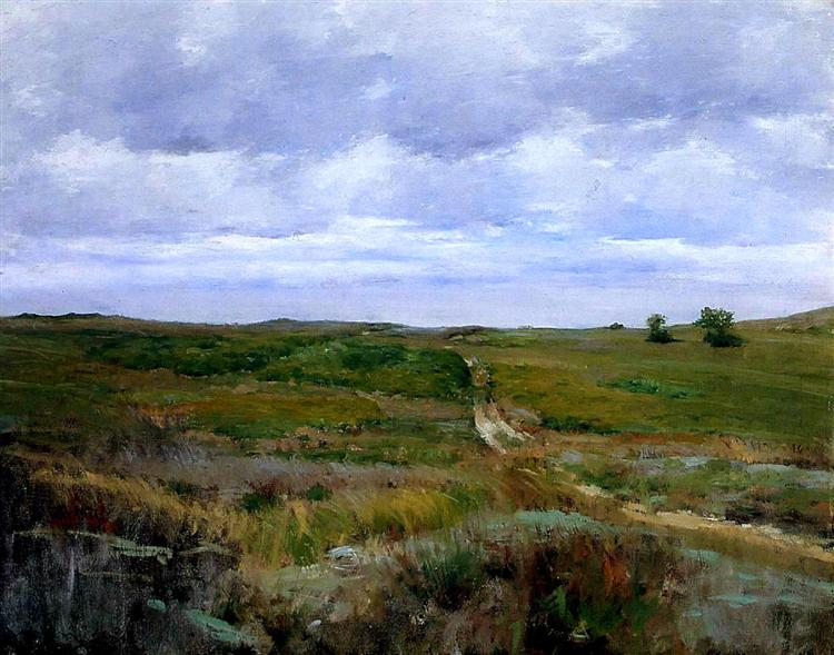 Over the Hills and Far Away, 1897 - William Merritt Chase
