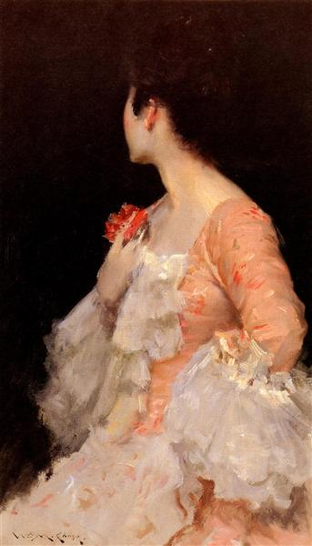 Portrait Of A Lady, 1890 - William Merritt Chase