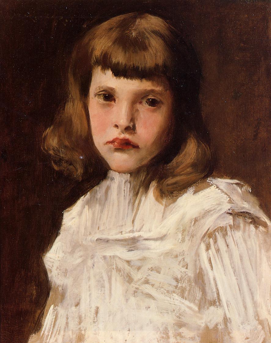 Portrait of Dorothy, c.1901 - William Merritt Chase ...