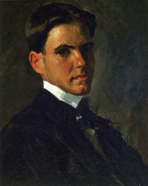 Portrait of Julian Oderdonk, 1901 - William Merritt Chase