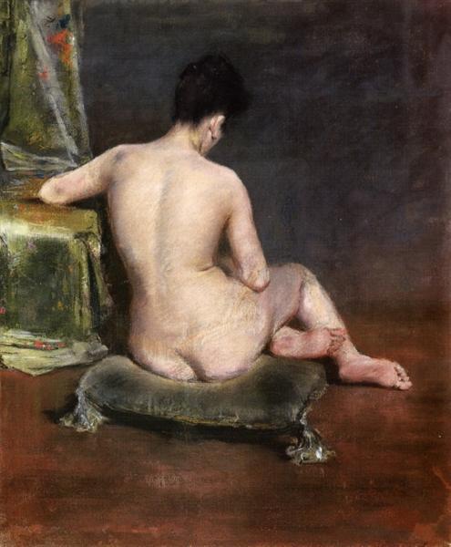 Pure (The Model), c.1888 - William Merritt Chase