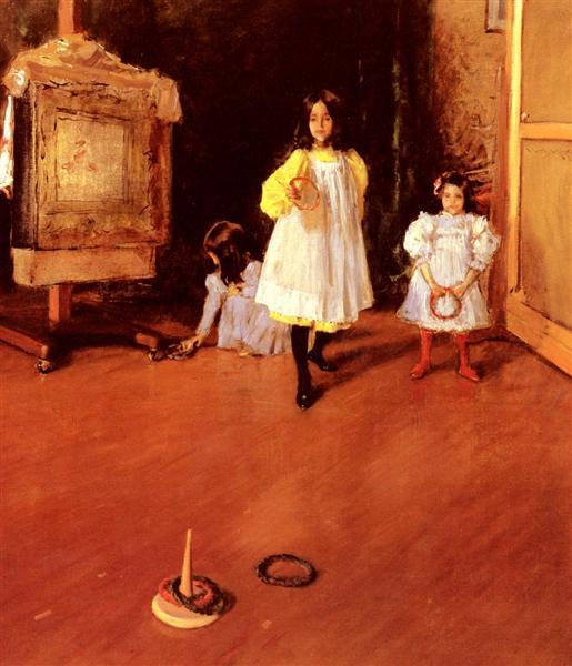 Ring Toss, 1896 - Вільям Меріт Чейз