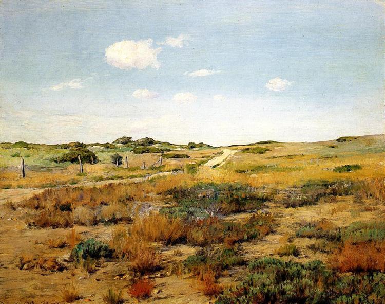 Shinnecock Hills, c.1893 - c.1897 - William Merritt Chase