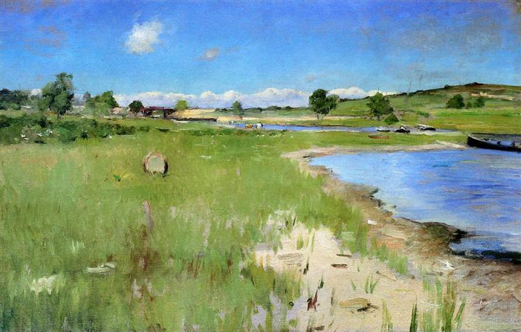 Shinnecock Hills from Canoe Place, Long Island - William Merritt Chase
