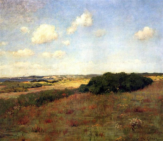 Sunlight and Shadow, Shinnecock Hills - William Merritt Chase