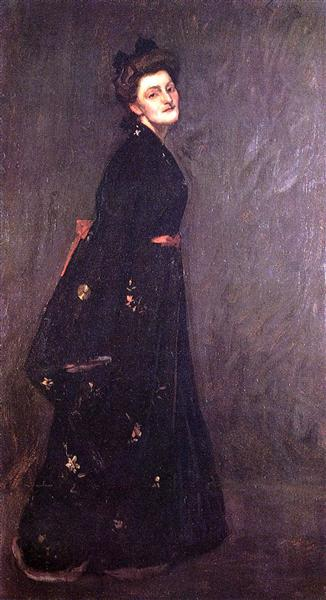 The Black Kimono - William Merritt Chase
