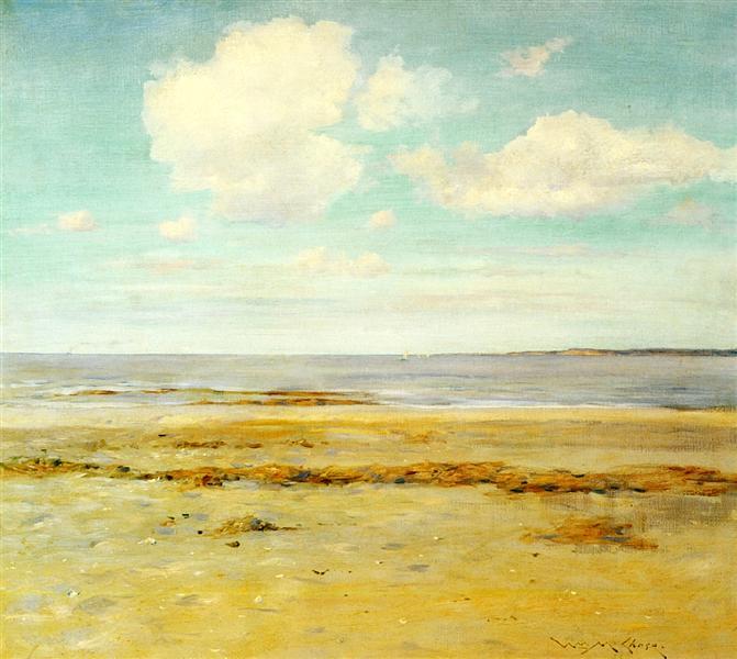 The Deserted Beach, c.1902 - William Merritt Chase