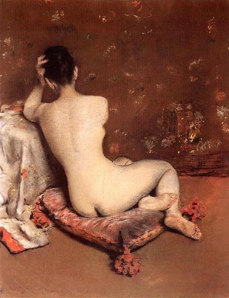 The Model, c.1887 - c.1888 - William Merritt Chase