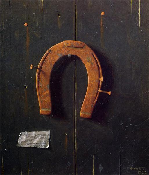 The Golden Horseshoe, 1886 - William Michael Harnett