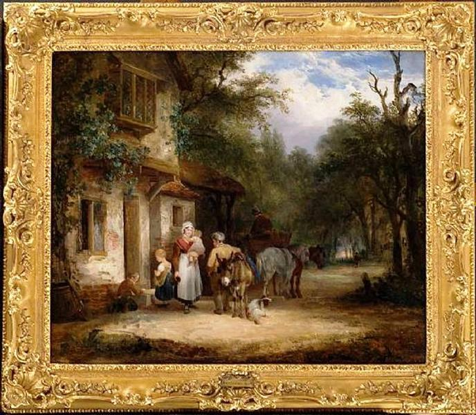 The Traveller's Rest, 1823 - 1825 - William Shayer