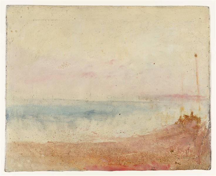 Coast Scene, 1845 - Joseph Mallord William Turner