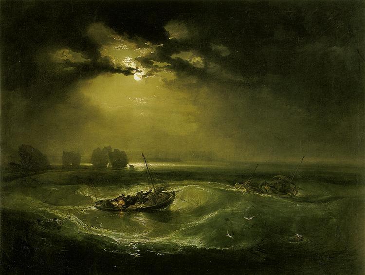 Fishermen at Sea - William Turner