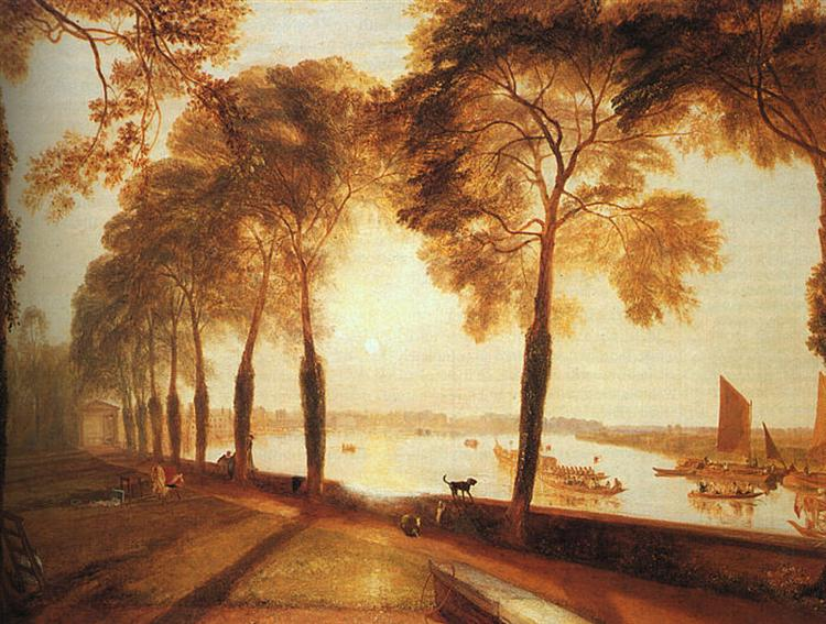 Mortlake Terrace, 1826 - J.M.W. Turner