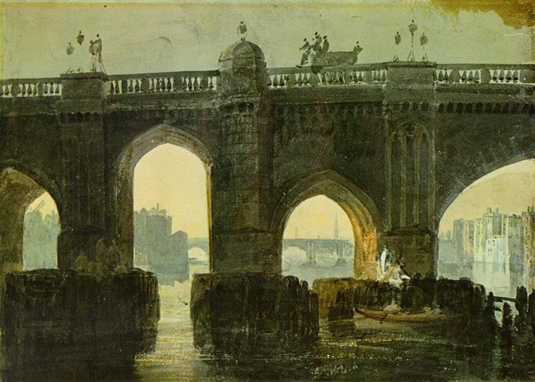 Old London Brige - J.M.W. Turner