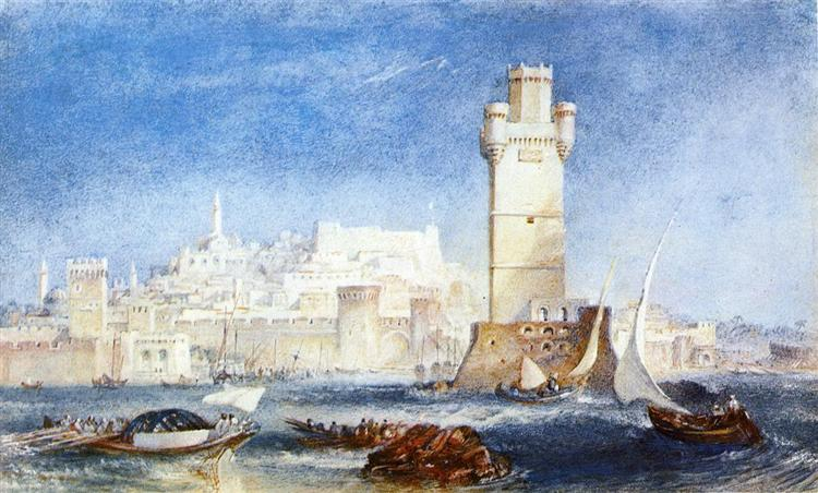 Rhodes (for Lord Byron's Works), 1823 - 1824 - J.M.W. Turner