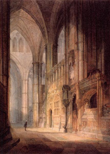 St. Erasmus in Bishop Islips Chapel, Westminster Abbey - J.M.W. Turner