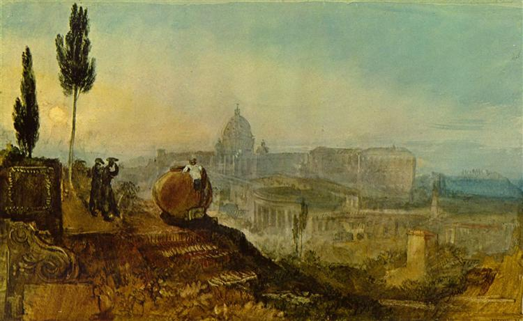 St. Peter's from the south, 1819 - J.M.W. Turner