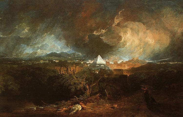 The Fifth Plague of Egypt, 1800 - J.M.W. Turner