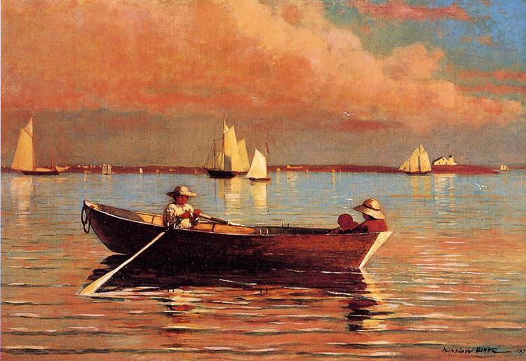 Gloucester Harbor, 1873 - Winslow Homer