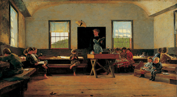 The Country School, 1871 - Winslow Homer