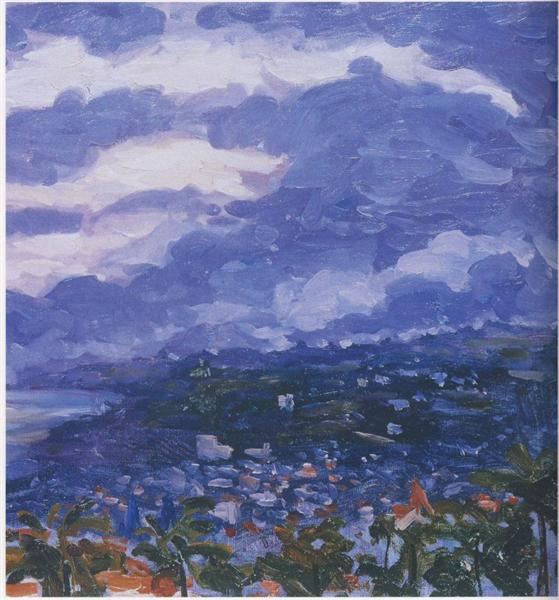 A Storm over Cannes - Winston Churchill