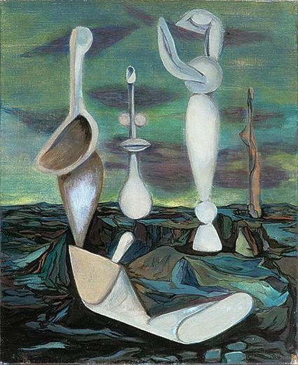 Les tours de lumière, 1936 - Wolfgang Paalen