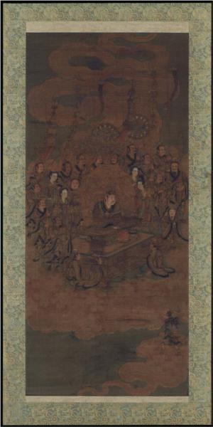 Daoist deity of heaven - Wu Daozi