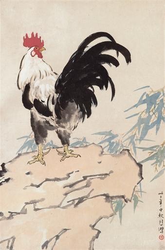 Rooster, 1943 - Xu Beihong
