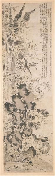 Sixteen Flowers - Xu Wei