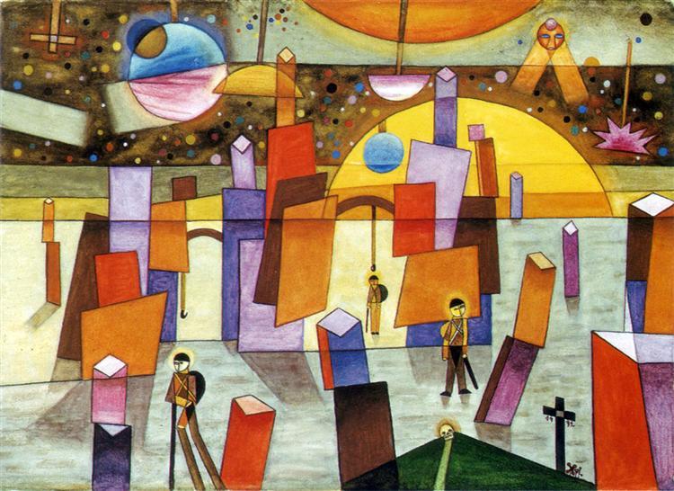 Palacios en Bría - Xul Solar