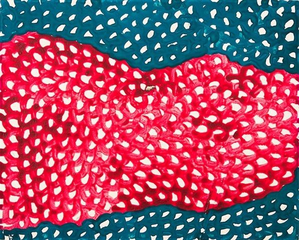 Waves, 1953 - Yayoi Kusama