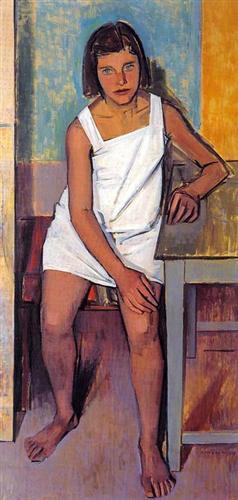 Portrait of Fani - Yiannis Moralis
