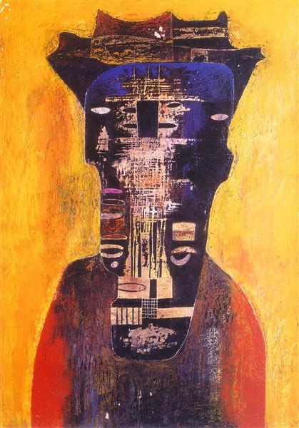 Untitled, 1958 - Здіслав Бексинський