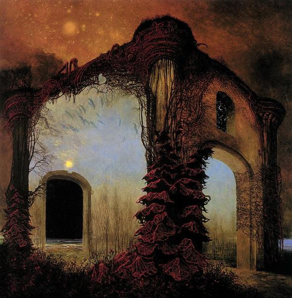 Untitled, 1978 - Здзислав Бексиньский