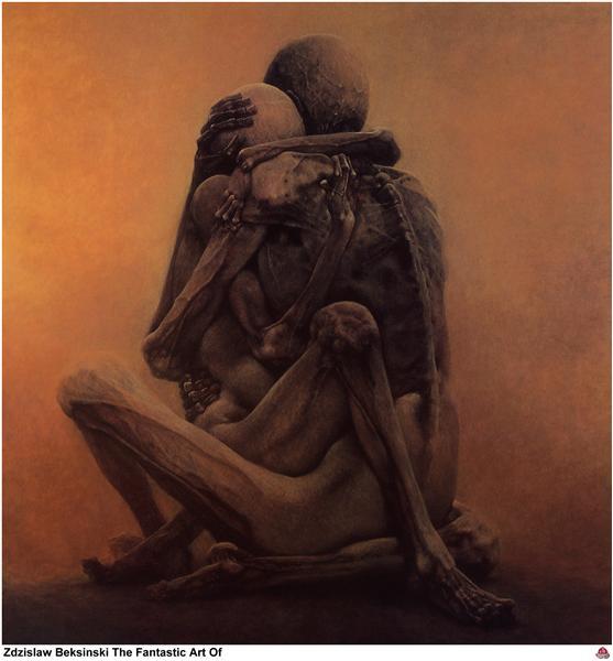 Untitled, 1984 - Zdzisław Beksiński