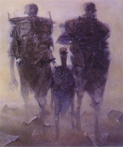 Untitled, 1998 - Zdzisław Beksiński