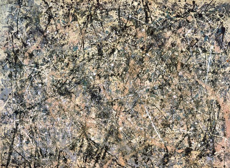 Number 1 (Lavender Mist) - Pollock Jackson