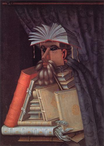 The Librarian - Giuseppe Arcimboldo